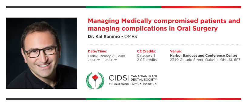 Managing Medically compromised patients and managing complications in Oral Surgery